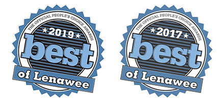 Best of Lenawee 2017 and 2019 Logos