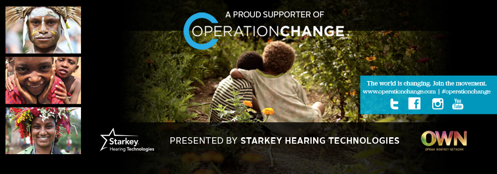 operation change, starkey hearing technologies